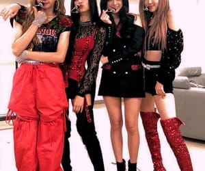 lisa, rose, and blackpink image