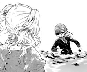 kuroshitsuji, ciel phantomhive, and elizabeth midford image