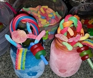 candy, drinks, and party image
