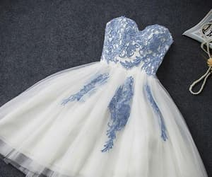 short homecoming dress, lace prom dresses, and custom prom dresses image