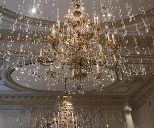 carefree, grunge, and chandelier image