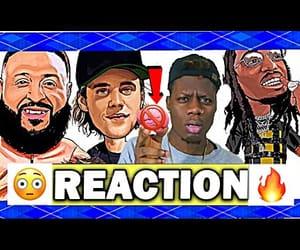 reaction, youtube, and dj khaled image