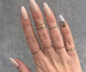 acrylics, marble, and nails image