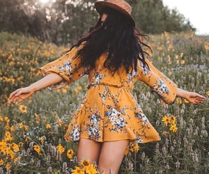 aesthetic, field, and babe image