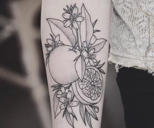 art, black and grey, and botanical image