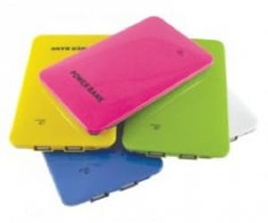 promotional power bank, vivid promotions, and custom printed power bank image