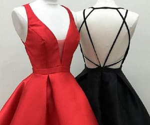 a-line prom dresses, sleeveless prom dresses, and cute homecoming dress image