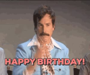 birthday, gif, and happy image