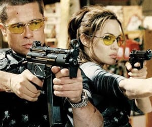 Action, Angelina Jolie, and mr and mrs smith image