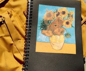 aesthetic, art, and sunflower image