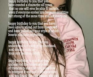 happy birthday, stay strong, and tumblr girl image