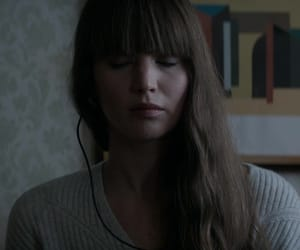 Jennifer Lawrence, red sparrow, and movie image