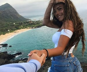 beach, goals, and body goals image