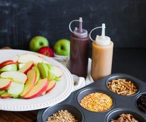 apples, autumn, and caramel image