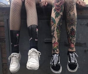 aesthetics, emo, and Tattoos image