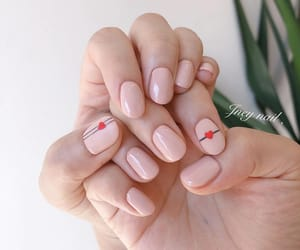beige, nail, and Nude image