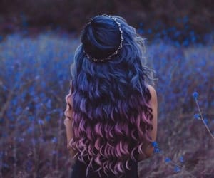 colorful hair, inspiration, and photo image