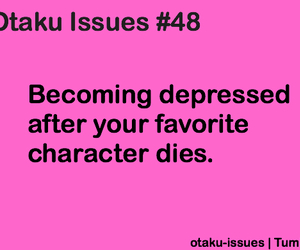 anime, otaku issues, and die image