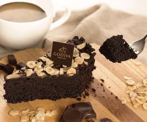 bakery, brownie, and chocolate image