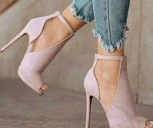 chic, pale pink, and elegant image