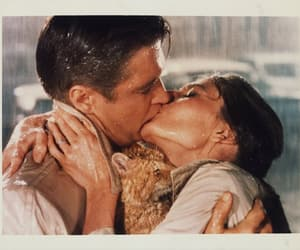 audrey hepburn, Breakfast at Tiffany's, and kiss image