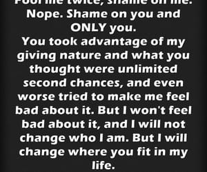 quote, shame, and shame on you image