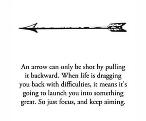 arrow, quotes, and sayings image