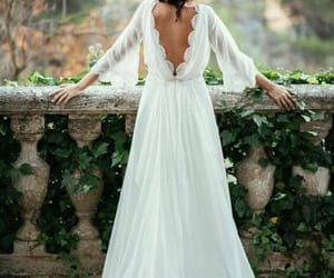 bride, flowers, and wedding day image
