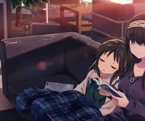 anime, kawaii, and sisters image