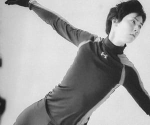 asian, figure skating, and gif image
