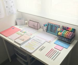 aesthetic, desk, and inspiration image