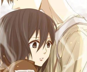 anime, attack on titan, and anime girl image