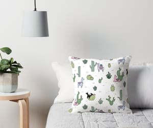 cactus, design, and pillow image