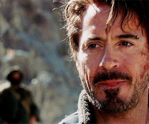 gif, robert downey jr, and tony stark image
