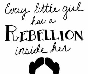 carrie fisher, girl power, and rebellion image