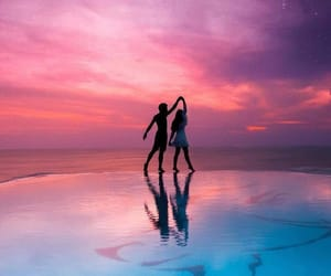 beach, colors, and Relationship image