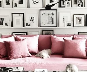decor, interior, and pink image