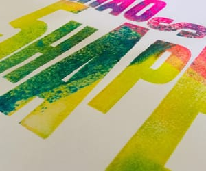 graphic design, letterpress, and old school image