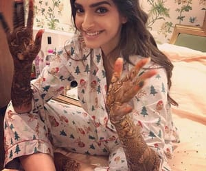 actress, bride, and henna image