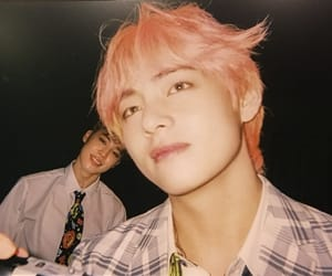 boys, v, and taehyung image