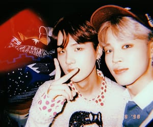 aesthetic, jhope, and taehyung image