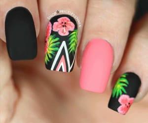 art, nails, and beauty image