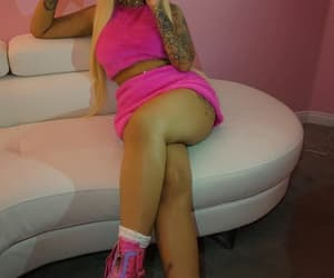 pink, pink outfit, and cuban doll image