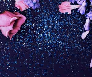 flowers, glitter, and wallpapers image