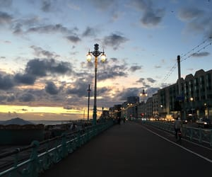 beautiful, brighton, and clouds image