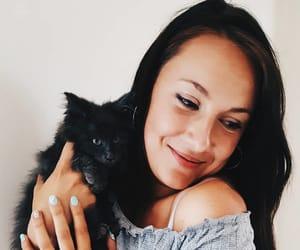 cat, women, and fashion image
