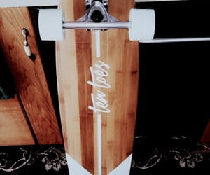 longboard, skater, and ten toes image