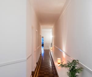 brown, white, and corridor image