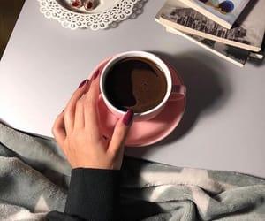 arab, coffee, and hand image