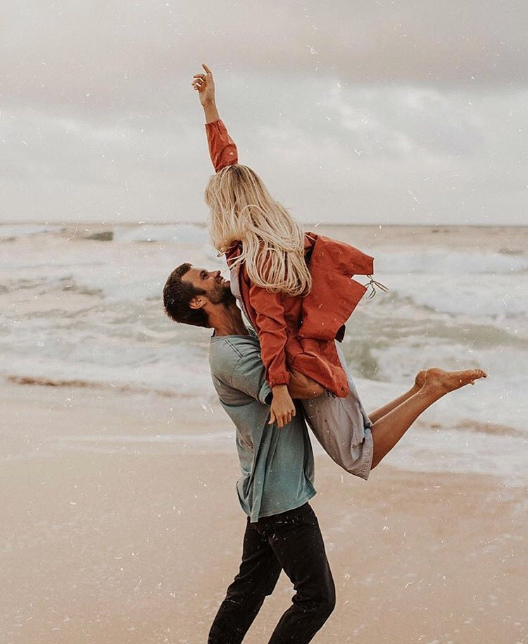 beach, cute, and Relationship image